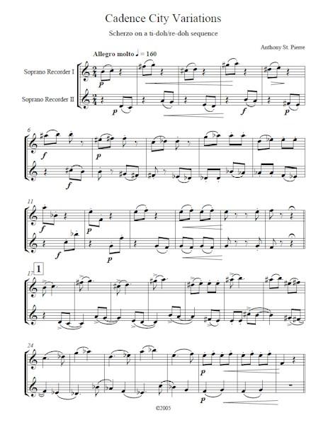 Cadence City Variations