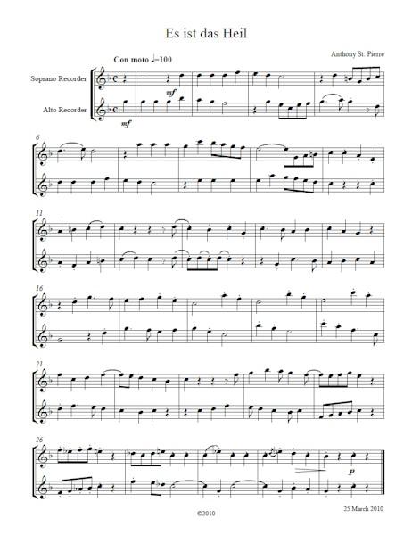 Chorale Bicinia