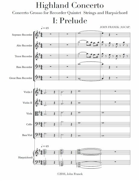 Highland Concerto