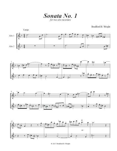 Music - New Music for Recorder - American Recorder Society