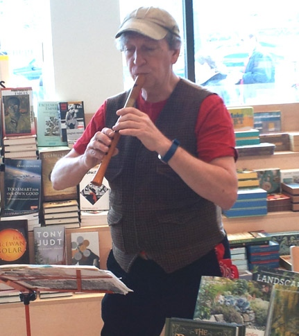 John Burkhalter at Labyrinth Bookstore